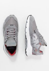 adidas Originals - NITE JOGGER  - Sneakers - grey three/footwear white - 0