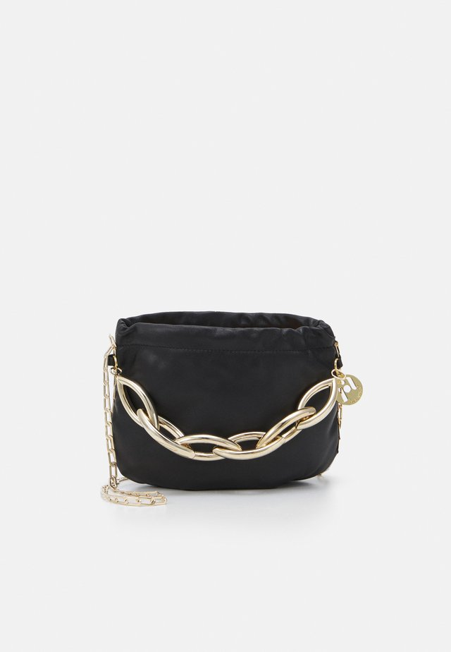 BUBBLE SMALL - Borsa a tracolla - black