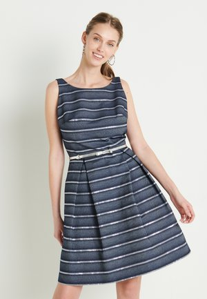 Cocktail dress / Party dress - marine /silber