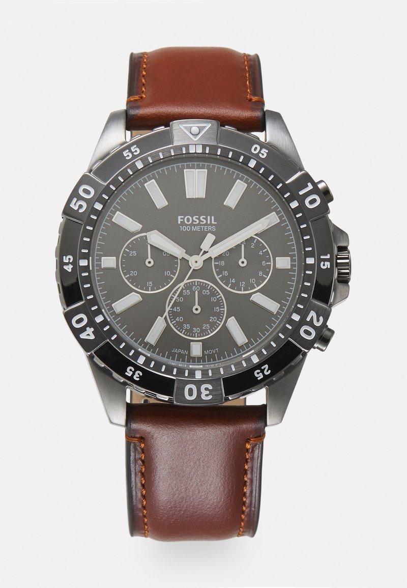 Fossil - GARRETT - Kronografklockor - brown