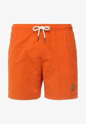 BLOCK - Swimming shorts - rustorange