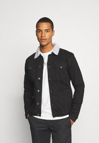 Denim Project - KASH JACKET - Cowboyjakker - black - 0