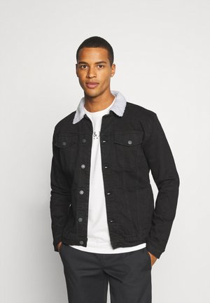 KASH JACKET - Denim jacket - black