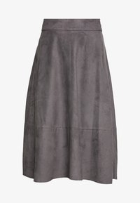 Esprit Collection - LINE SKIRT - A-line skirt - taupe - 3