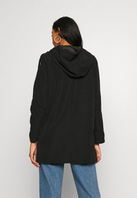 JDY - JDYORVILLE SHINE LONG - Parka - black - 2