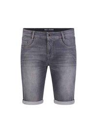 MAC Jeans - BERMUDA - Denim shorts - ashgrey used - 0