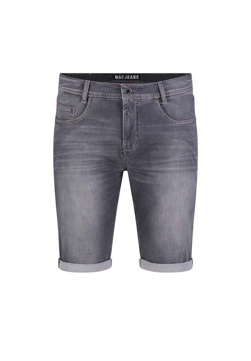 MAC Jeans - BERMUDA - Denim shorts - ashgrey used