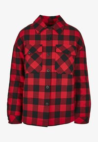 Urban Classics - Button-down blouse - black/red - 0