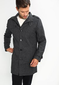 Pier One - Trenchcoat - salt and pepper - 0