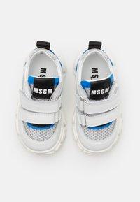 MSGM - UNISEX  - Sneakers - white/blue - 3