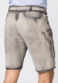 Stockerpoint - Leather trousers - rauch geäscht - 4