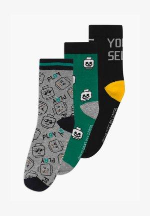 3 PACK - Ponožky - grey