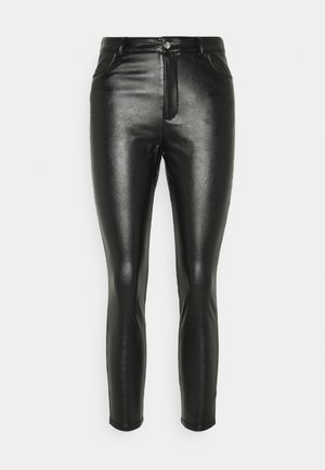 Zip Up Pant with 5 Pockets - Bukse - black