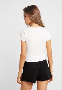Nly by Nelly - LOVE  - Basic T-shirt - white - 2