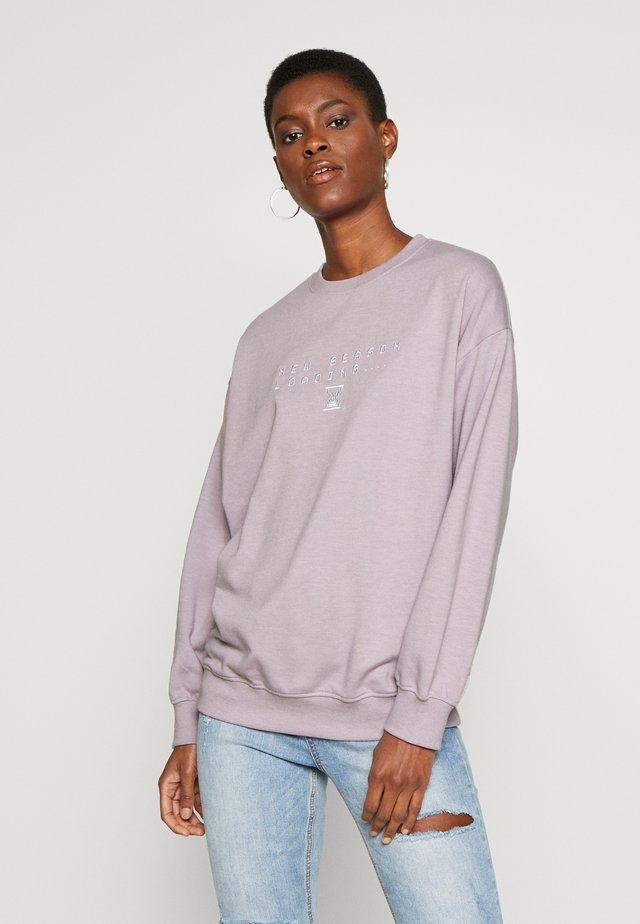 NEW SEASON LOADING  - Sweatshirts - lilac