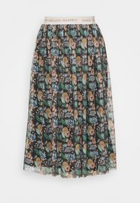 Rich & Royal - SKIRT PRINTED - A-line skirt - black - 3