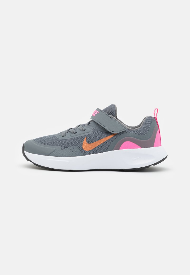 Nike Sportswear - WEARALLDAY UNISEX - Zapatillas - smoke grey/metallic copper/pink glow