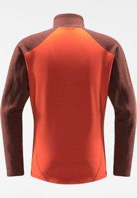 Haglöfs - HERON  - Fleece jacket - habanero/maroon red - 6