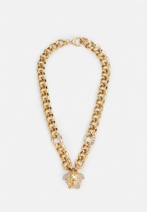 CHAIN MEDUSA NECKLACE - Collana - gold-coloured