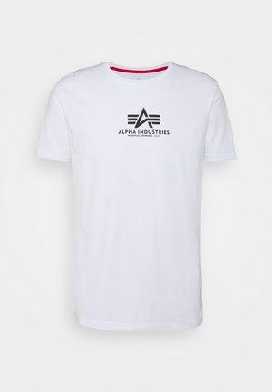 BASIC - Printtipaita - white