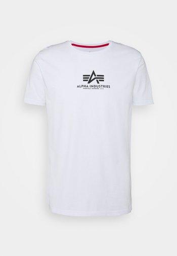 BASIC - Print T-shirt - white