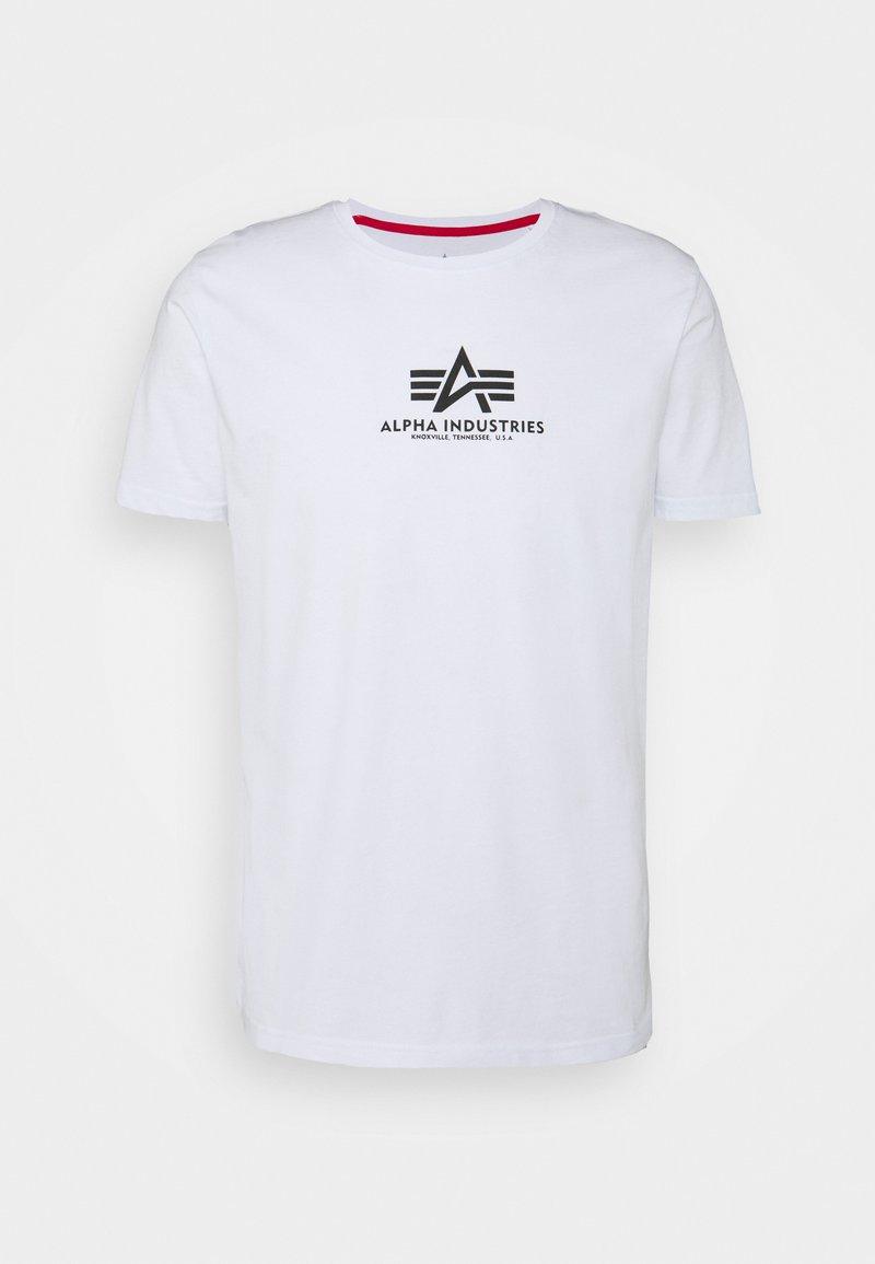 Alpha Industries - BASIC - Printtipaita - white