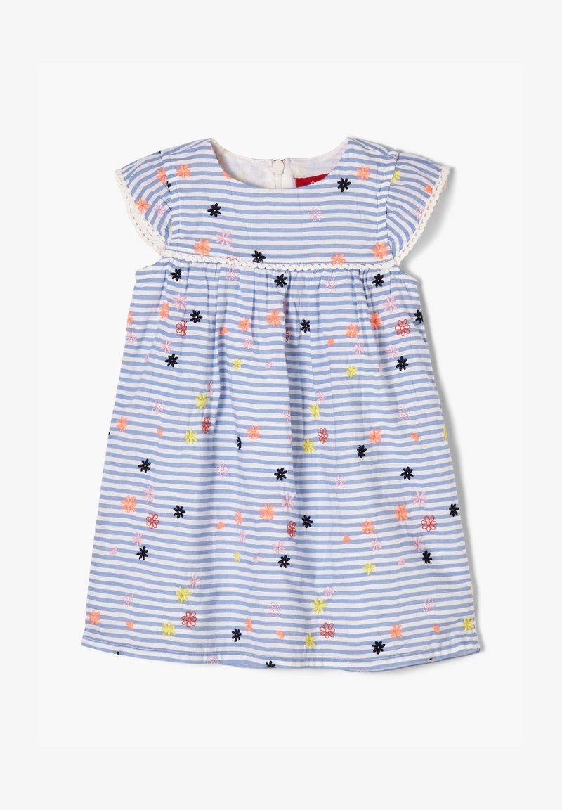 s.Oliver - Day dress - light blue stripes & flowers