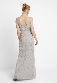 Maya Deluxe - STRAP DRESS WITH EMBELLISHMENT - Společenské šaty - grey - 2