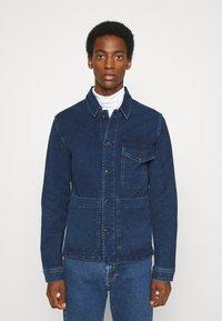 Selected Homme - SLHHARRY - Denim jacket - dark blue denim - 0
