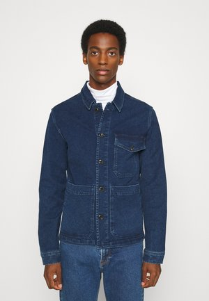 SLHHARRY - Denim jacket - dark blue denim