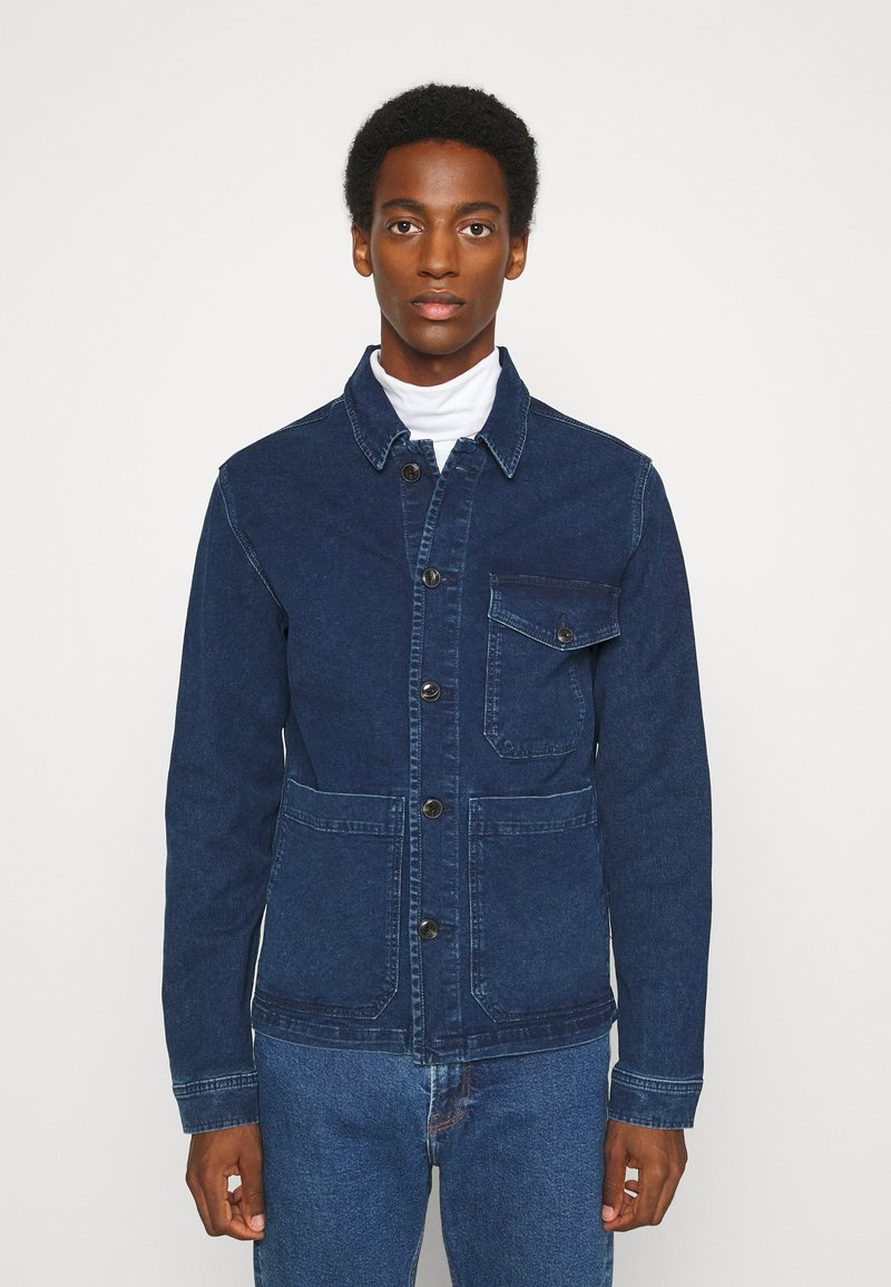 Selected Homme - SLHHARRY - Denim jacket - dark blue denim