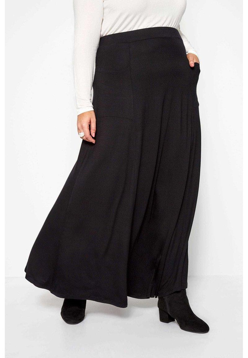 Yours Clothing - Maxi skirt - black