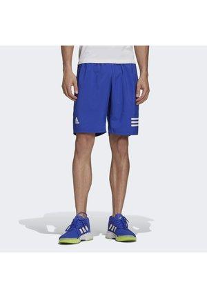 CLUB 3-STRIPES TENNIS AEROREADY PRIMEGREEN SHORTS - Sportovní kraťasy - bold blue white