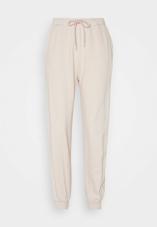 HIGH WAIST JOGGERS - Tracksuit bottoms - pink