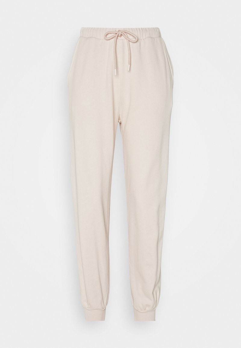 NU-IN - HIGH WAIST JOGGERS - Tracksuit bottoms - pink