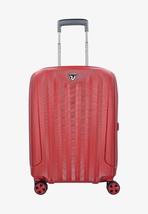 UNICA  - Wheeled suitcase - red