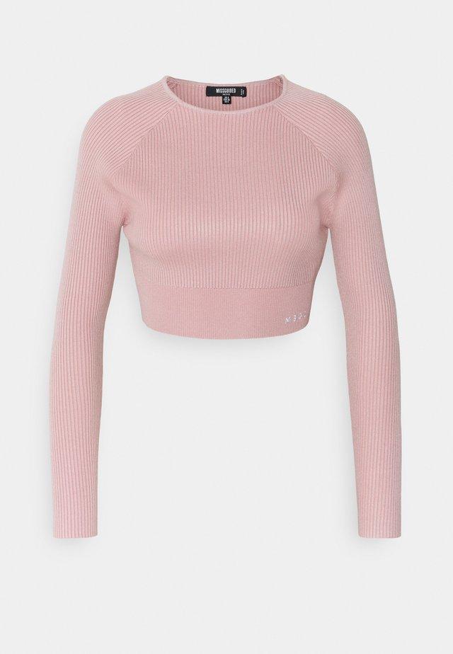 LONG SLEEVE - T-shirt à manches longues - pink