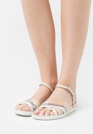 SIMPIL - Sandaalit nilkkaremmillä - multicolor/powder