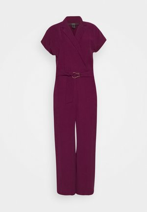 LAPEL - Tuta jumpsuit - bordeaux red