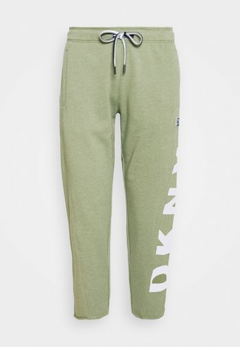 CUT OFF LOGO CROPPED SLIM FIT JOGGER