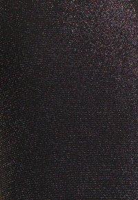 Glamorous Bloom - LADIES DRESS RAINBOW GLITTER  - Juhlamekko - black - 2