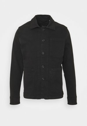 JJILUCAS JJJACKET BLACK - Tunn jacka - black