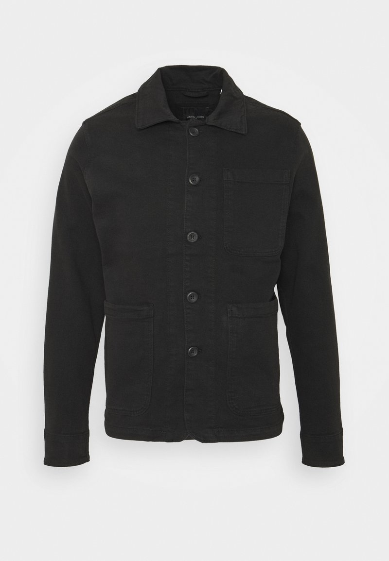 Jack & Jones - JJILUCAS JJJACKET BLACK - Summer jacket - black