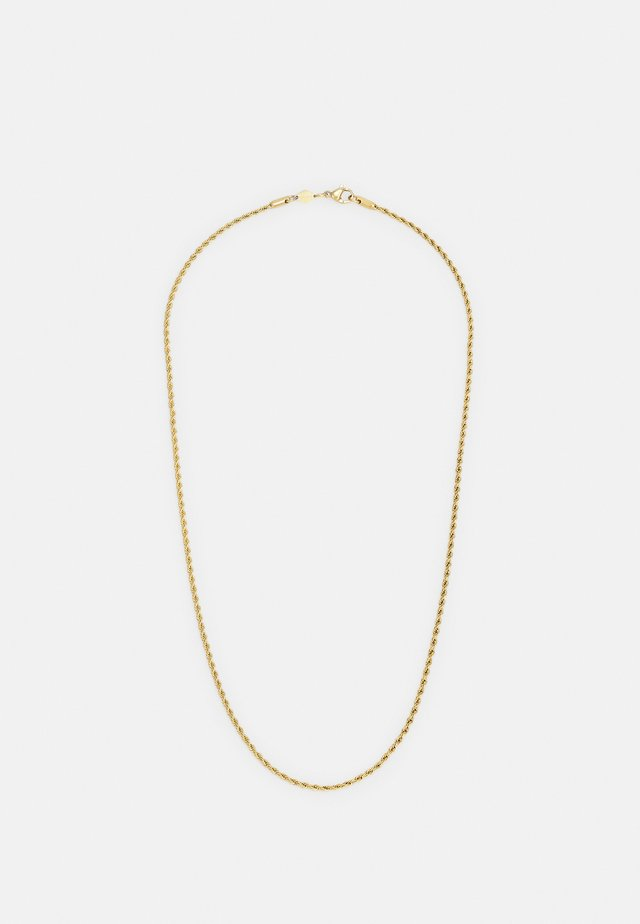 ROPE CHAIN NECKLACE UNISEX - Collana - gold-coloured