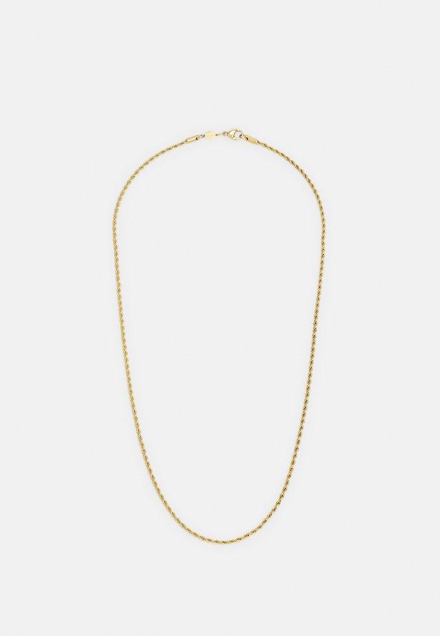 ROPE CHAIN NECKLACE UNISEX - Náhrdelník - gold-coloured