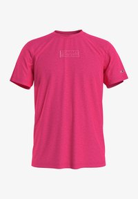Tommy Jeans - T-shirt med print - pink - 0