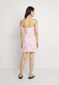 NEW girl ORDER - PATCHWORK BODYCON DRESS - Shift dress - multicoloured - 2