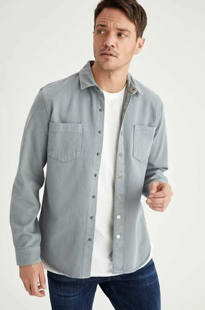OVERSHIRT - Overhemd - grey