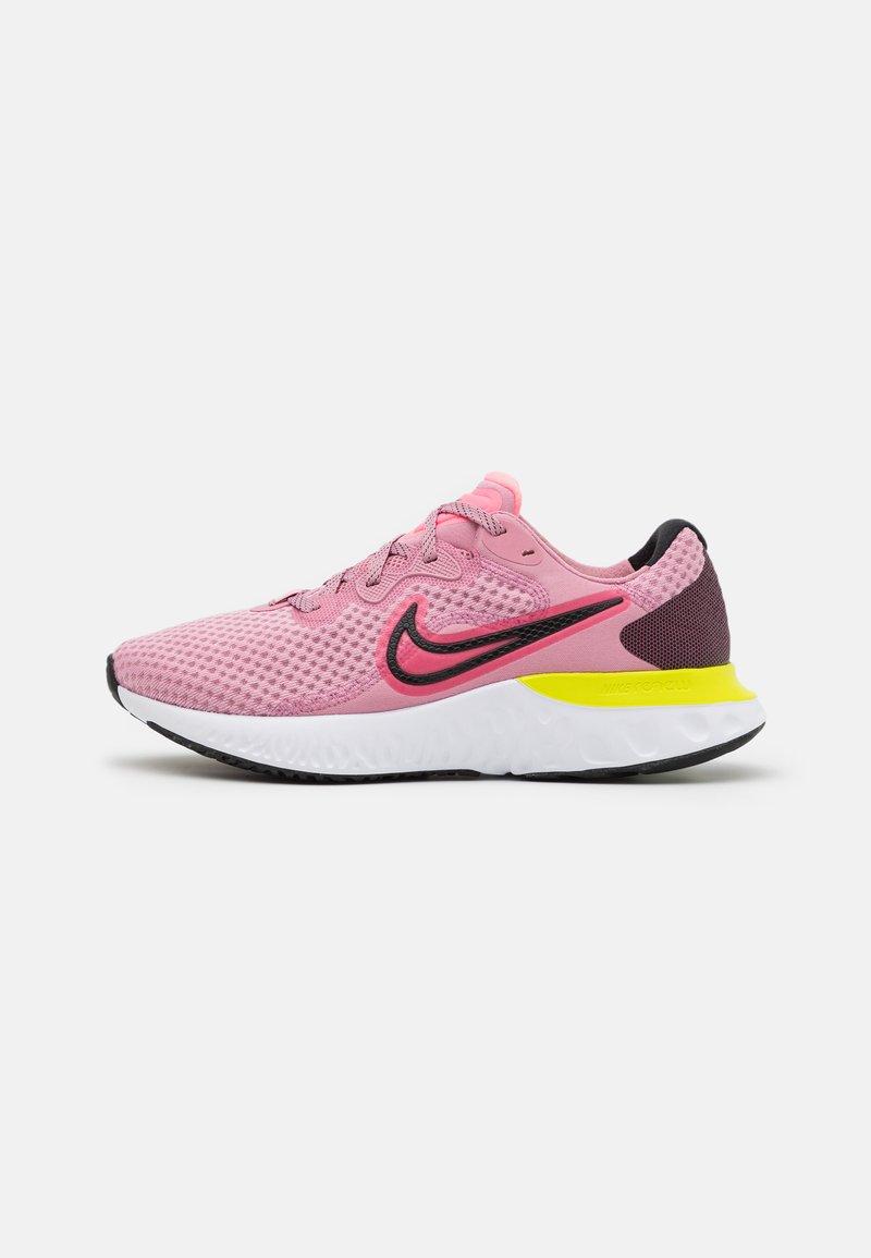 Nike Performance - RENEW RUN 2 - Neutral running shoes - elemental pink/sunset pulse/black/cyber
