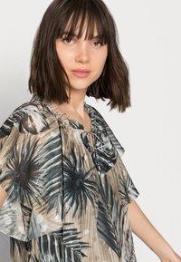 Mos Mosh - TIKKA SHADE DRESS - Day dress - vintage indigo - 3